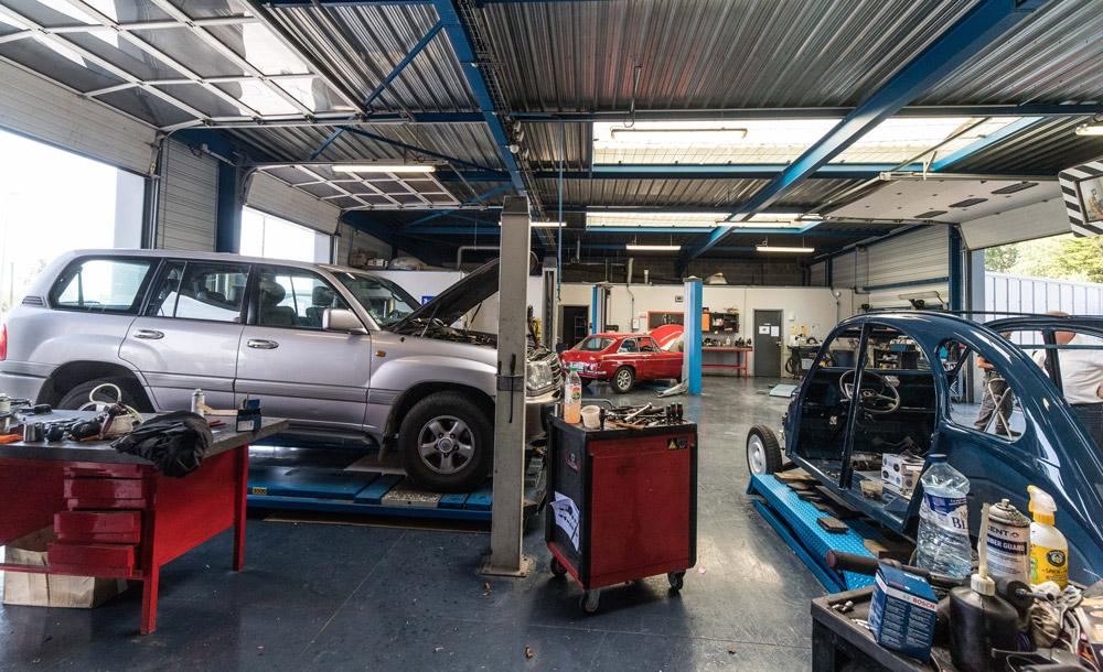 mécanique auto à Dinard