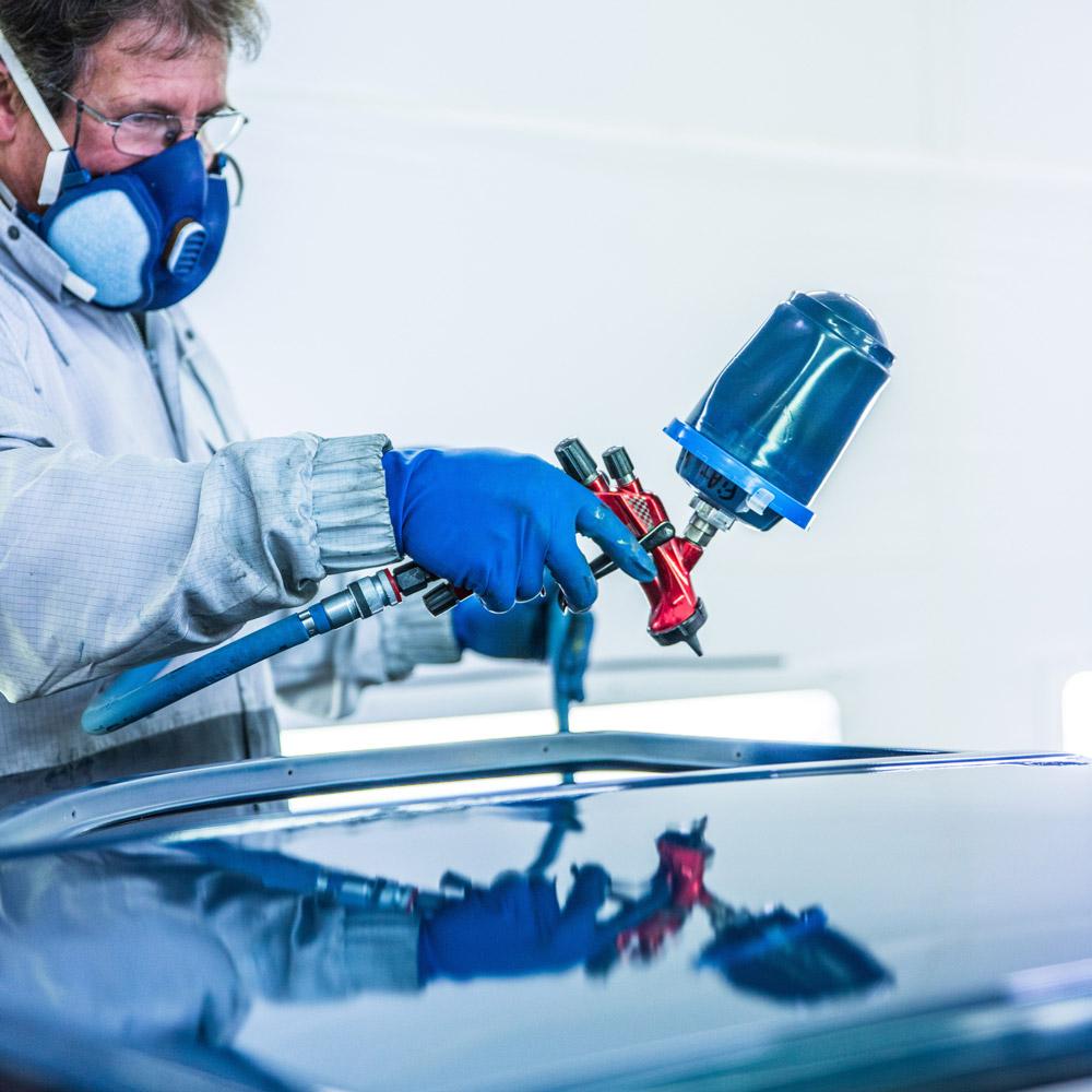 atelier peinture carrosserie auto à Dinard