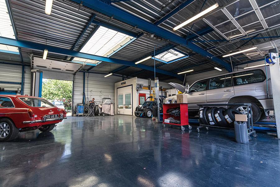 photos du garage des corbières